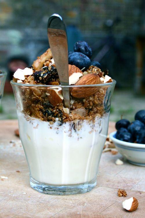 Gwyneth Paltrow's gluten-free maple quinoa granola from It's All Good