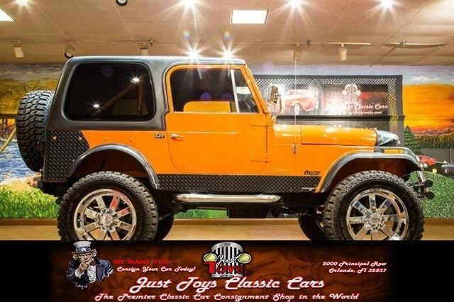 Ebay Cj Jeep Cj 7 Orange With 100 492 Miles For Sale Jeep