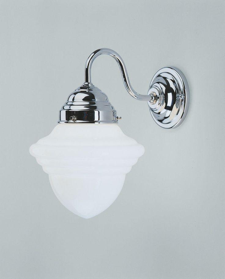 Berliner Messinglampen Wandleuchte Wandlampe Wandkronleuchter A34-121op C Chrom in Möbel & Wohnen, Beleuchtung, Wandleuchten | eBay