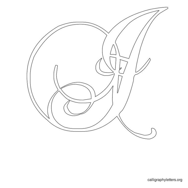 1000 Ideas About Calligraphy Letters On Pinterest