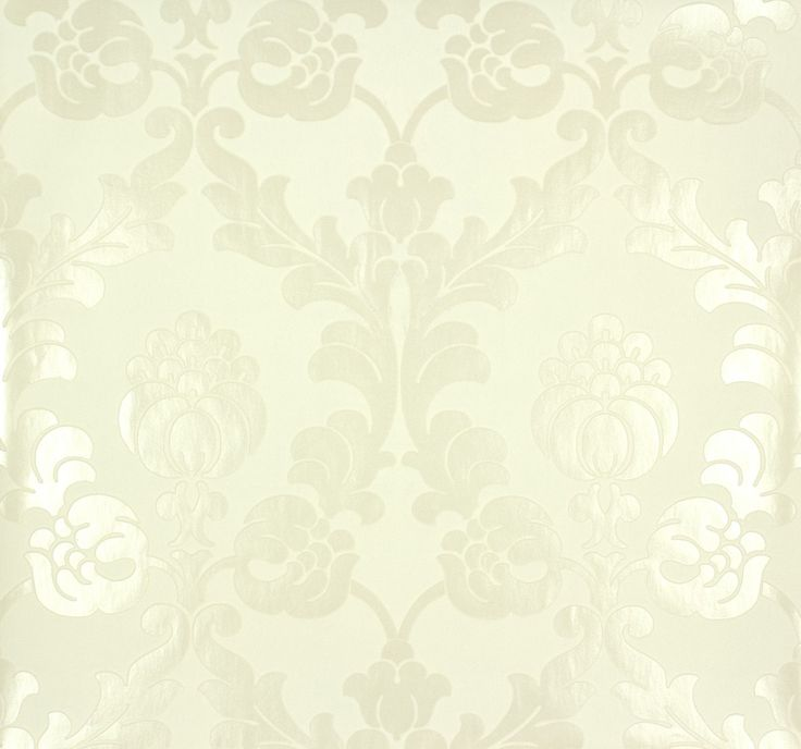 rasch behang   non-woven wallpaper Rasch Gentle Elegance 725810 floral white ivory ...