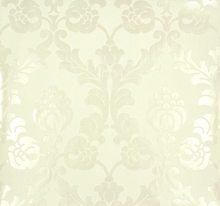 rasch behang | non-woven wallpaper Rasch Gentle Elegance 725810 floral white ivory ...