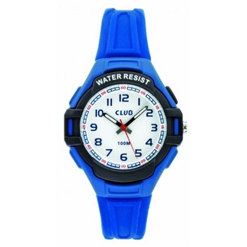 Sports hård plast Quartz med lys Drenge ur fra Club Time, A47108-3BL0A