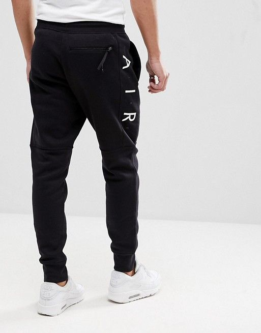 2e61c547457db Nike Air Joggers In Skinny Fit In Black 886048-011