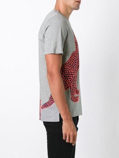 Grey+cotton+'Dino'+print+T-shirt+from+Paul+Smith. http://rfbd.cm/rpa066097c