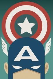 Captain America Comic Book Poster
