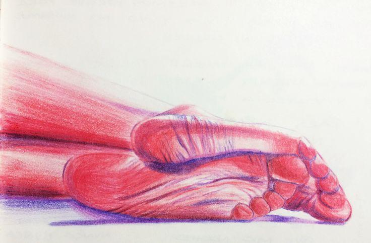 Prismacolor over a moleskine.