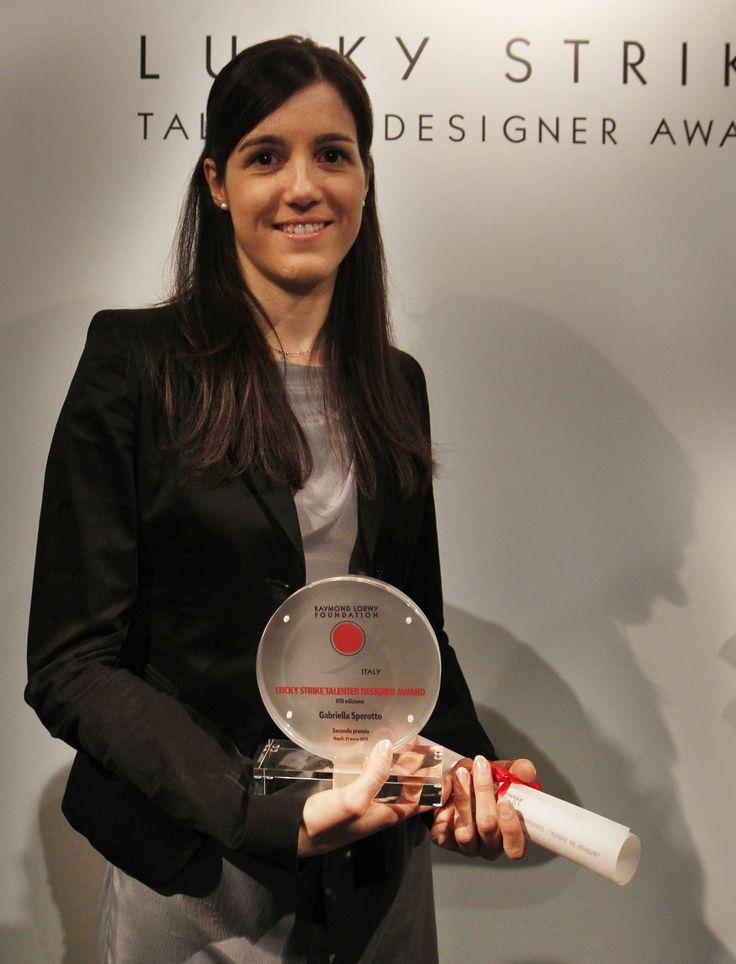 VIII #LuckyStrike Talented #Designer Award.Gabriella Sperotto 2nd classified. #IUAV, #Venice.