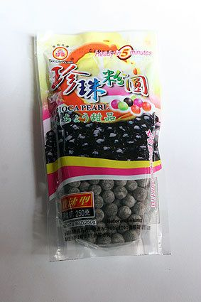 tapioca for bubble tea