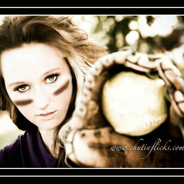 Softball! Would be a cute senior pic.