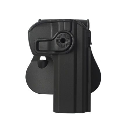 IMI Defense Holster  IMI-Z1340 Retention Roto Polymer Holster for CZ 75 SP-01 Shadow, CZ75 SP-01 Tactical, CZ75 Compact, CZ75 D Compact,CZ 75P-06
