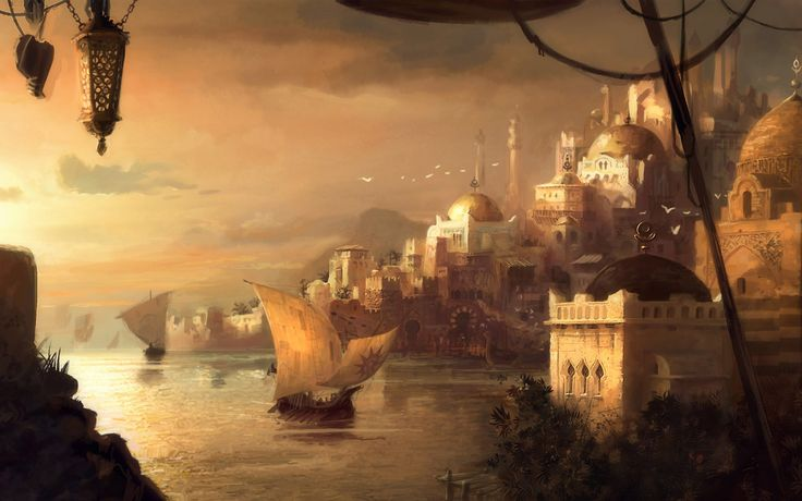 fantasy arabic city - Google Search | Roleplaying Setting ...