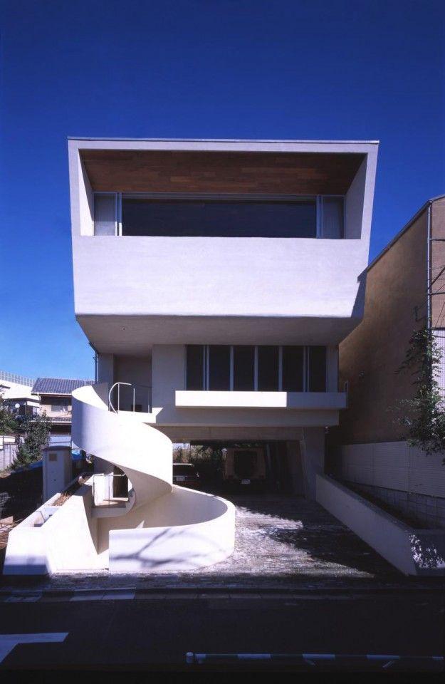 White Whorls | Shibuya-ku,Tokyo, Japan | milligram architectural studio