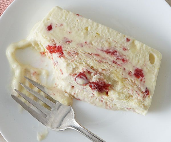 White Chocolate and Sour Cherry Semifreddo by Fine Cooking | ~desserts ...