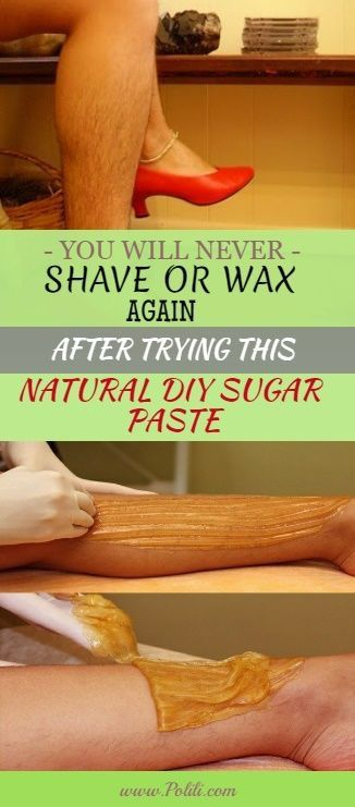 You'll Never Shave Or Wax Again After Trying This Natural DIY Sugar Paste. So Simple And It Works!