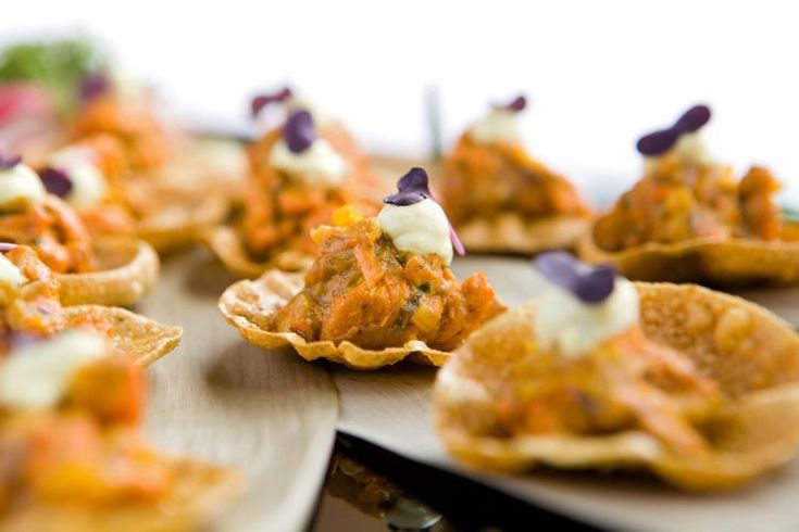 79 best images about wedding buffet food on pinterest for Canape buffet menus