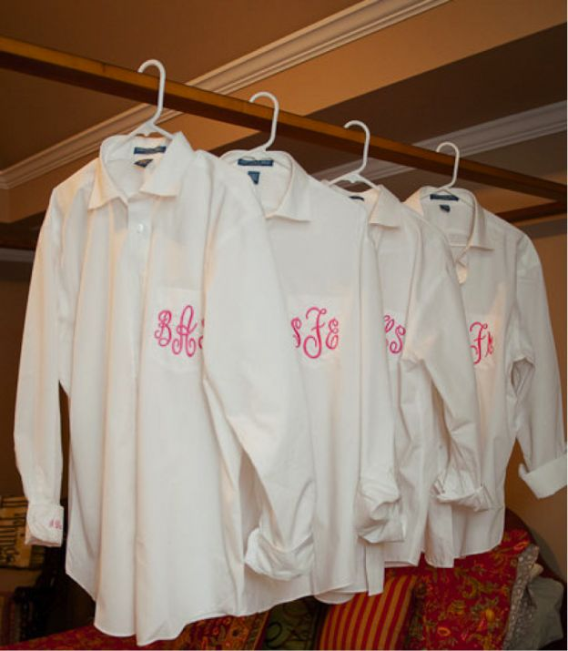 Bridesmaids Gift- Monogrammed Button Downs