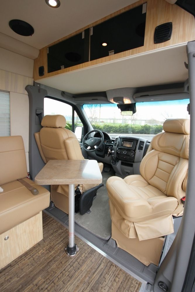 Luxurious Mercedes Sprinter Motorhome Camper Van Ideas Pinterest Autocaravana