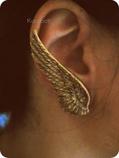 Angel Earrings: Angel Wings, Angel Earrings
