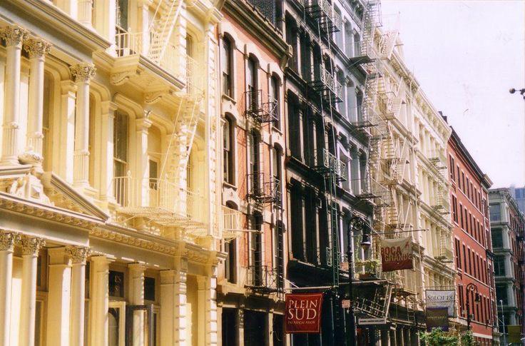 SoHo, New York  - http://earth66.com/city/soho-new-york/