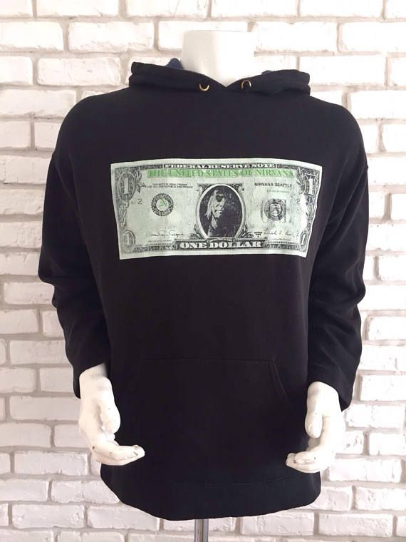 #vintage #nirvana #kurt #cobain #1992 #tshirt #shirt #gift #rockband #tee #tees #true #collection #dollar #bill #nevermind https://www.etsy.com/listing/554411435/1992-vintage-nirvana-nevermind?ref=shop_home_active_2