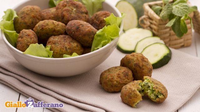 polpette di zucchine e ricotta far mangiare le verdure ai bambini