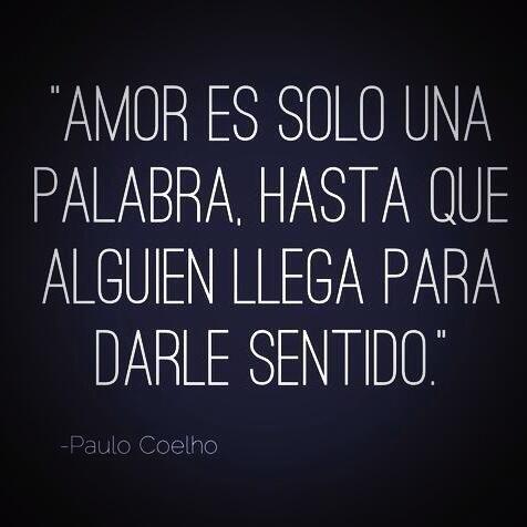 Amor es solo una palabra