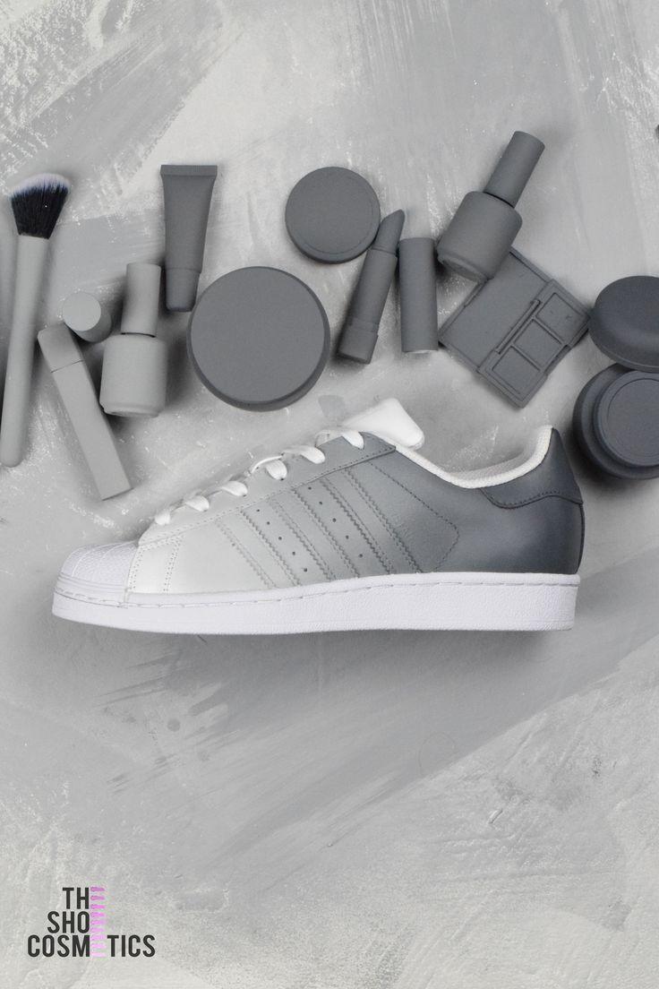 Adidas ombre grise - Baskets sur mesure   Moda ayakkabılar ...