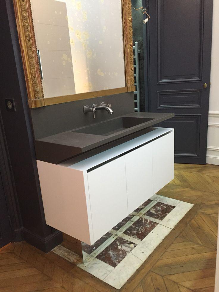 Salle de bain paris v2 créations pierre Valcke