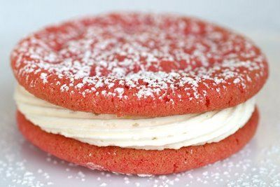 Raspberry Sandwich cookies with lemon cream by the Cooking ...