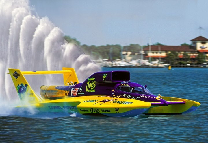 Smokin' Joe's Camel Powered!  classic unlimited class hydroplane hydroplanes hydro hydros racing boat boats