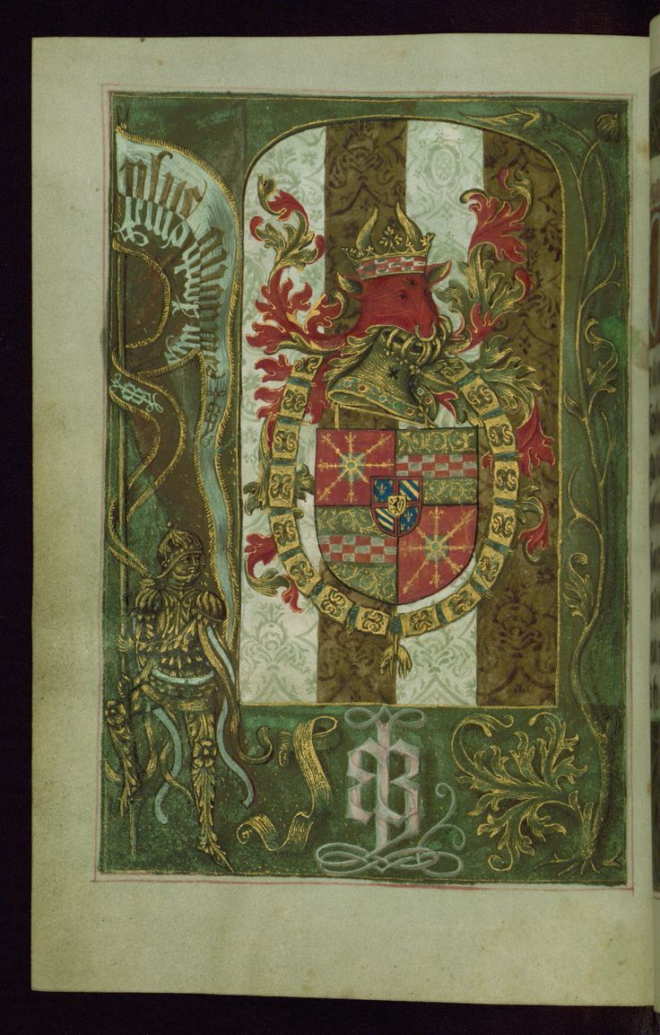 47 best kleve germany 1200 1500 images on pinterest middle ages heraldic leaf from the hours of duke adolph of cleves coat of arms of adolph of cleves adorned with the collar of the order of the golden fleece biocorpaavc Choice Image