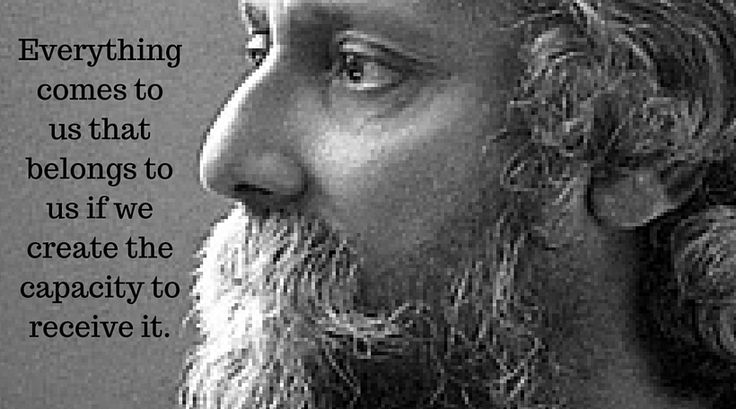 Rabindranath Tagore Biography | Motivational Quotations | Nobel Prize Winner