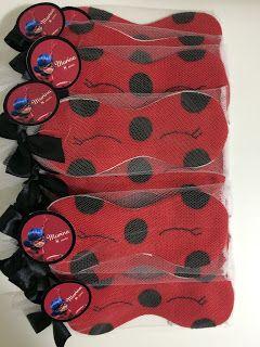 Pequena Boutique Lembrancinhas: Lembrancinha Festa do Pijama Miraculos Ladybug!