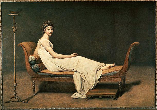 Мадам Рекамье была не только красавицей и светской дамой, но и прародительницей кушетки рекамье.