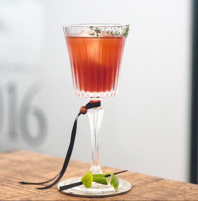 Enjoy El Pacto, a cocktail made with Patrón Reposado.