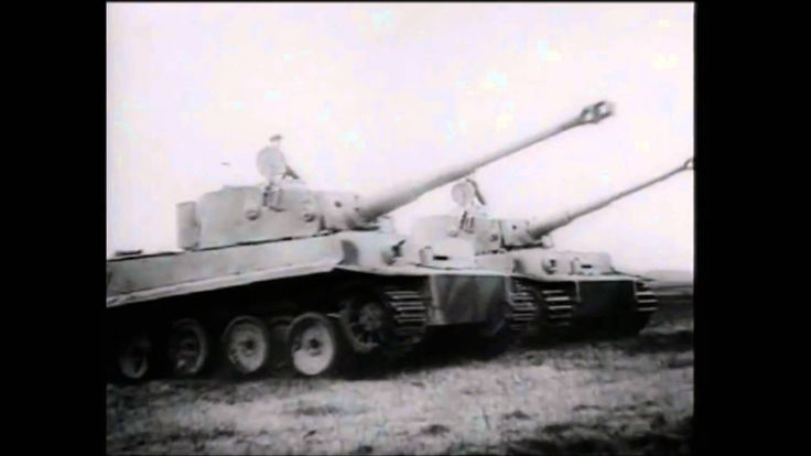 Panzerwaffe - German Armored Force in WW2 music: Panzerlied 1. Ob's stürmt oder…