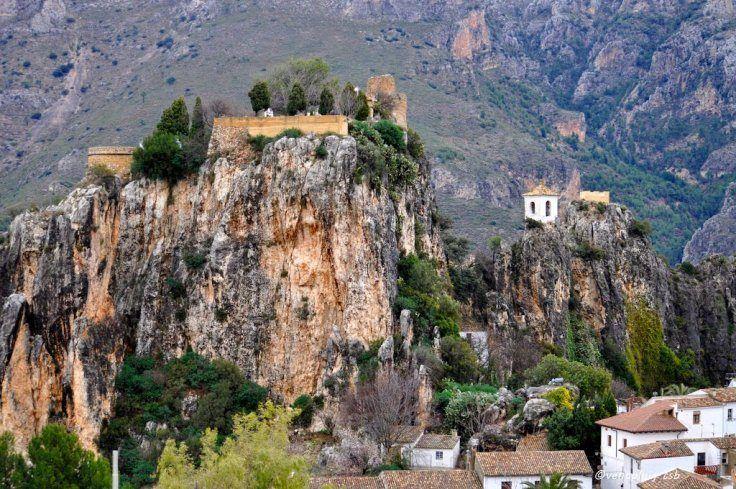 Como Llegar Castell De Guadalest Paisajes De Espana Espana