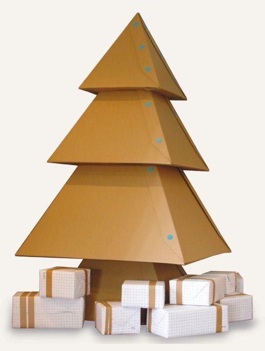 Imparare a fare un albero di Natale di grandi dimensioni Makedo di cartone o per più ispirazione, fare clic sul collegamento: