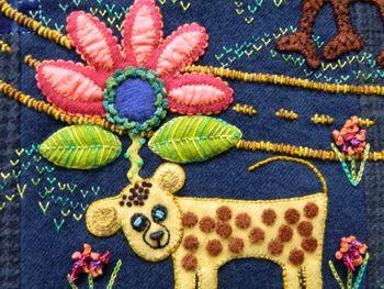 Folk Tails Quilt Kit From Sue Spargo Folk Art Quilt