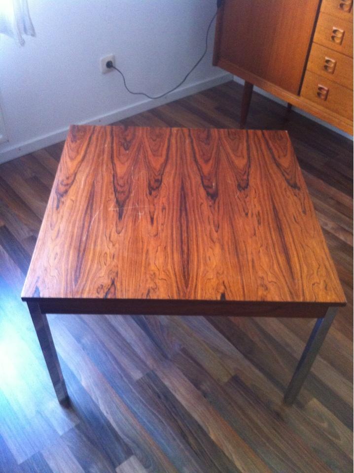 Beistell oder wohnzimmertisch retro tisch ca 40 cm hoch for Wohnzimmertisch 50 cm