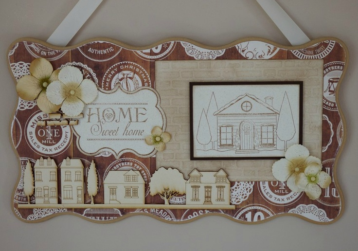 Carol31 pour Scrap à la Carte - nouveautés Home Sweet Home