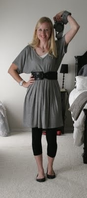 I hate my legs. I also hate dresses. This is my solution :) It kinda makes it a non-dress.