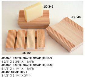 Hinoki Wood Soap Rests