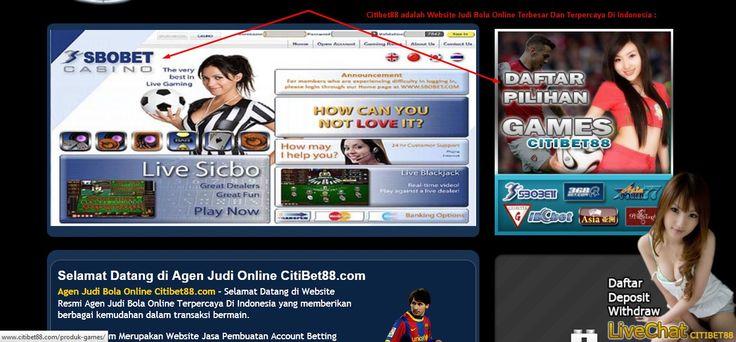 website judi bola online : Agen Judi Taruhan Bola Online Terpercaya : Citibet88.com kali ini akan share tentang website resmi judi bola di indonesia