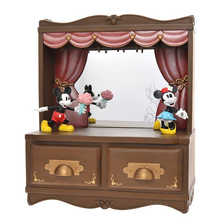 Mickey minnie jewelry box disney jewelry pinterest for Minnie mouse jewelry box