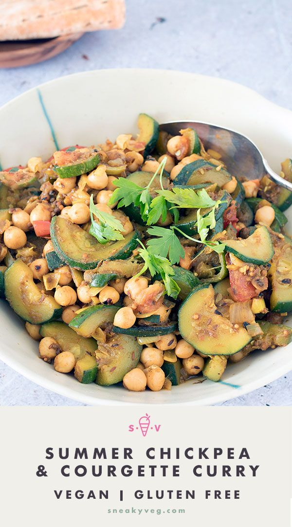 Chickpea And Courgette Curry