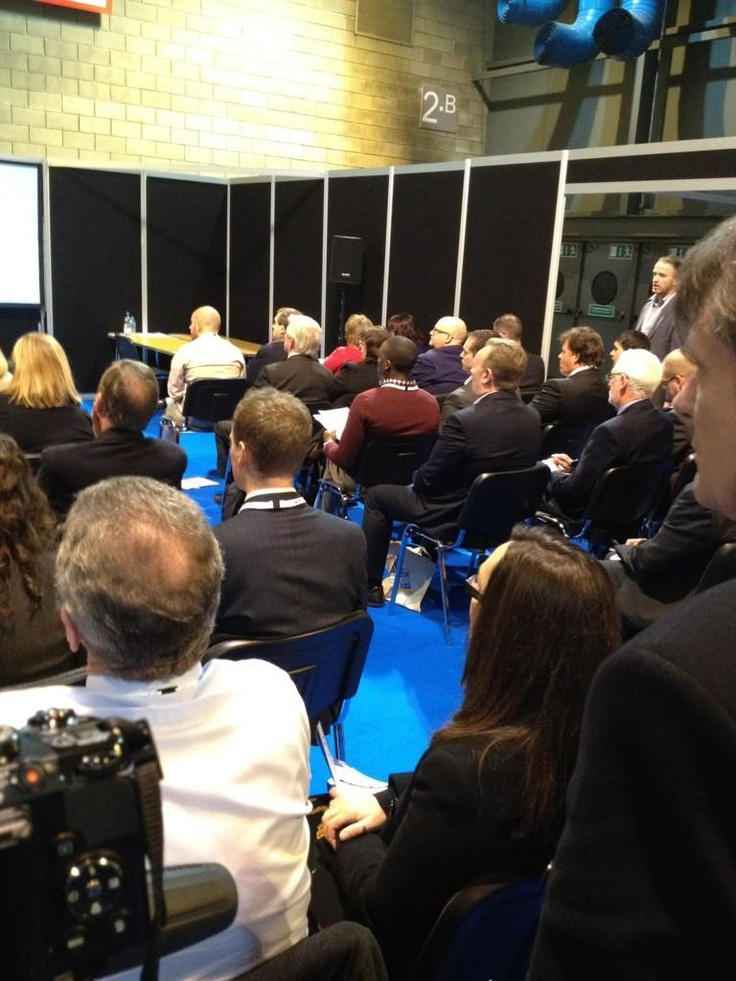 Standing room only for PASS training at Procurex Scotland