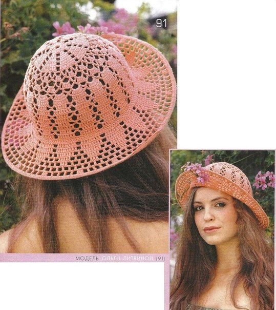 83 best Gorros y sombreros images on Pinterest | Gorros, Moldes de ...