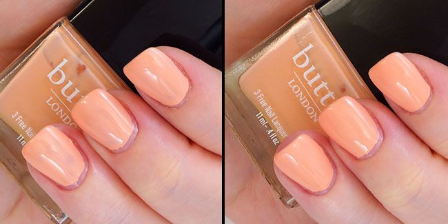Butter London Nail Polish in Kerfuffle Swatches